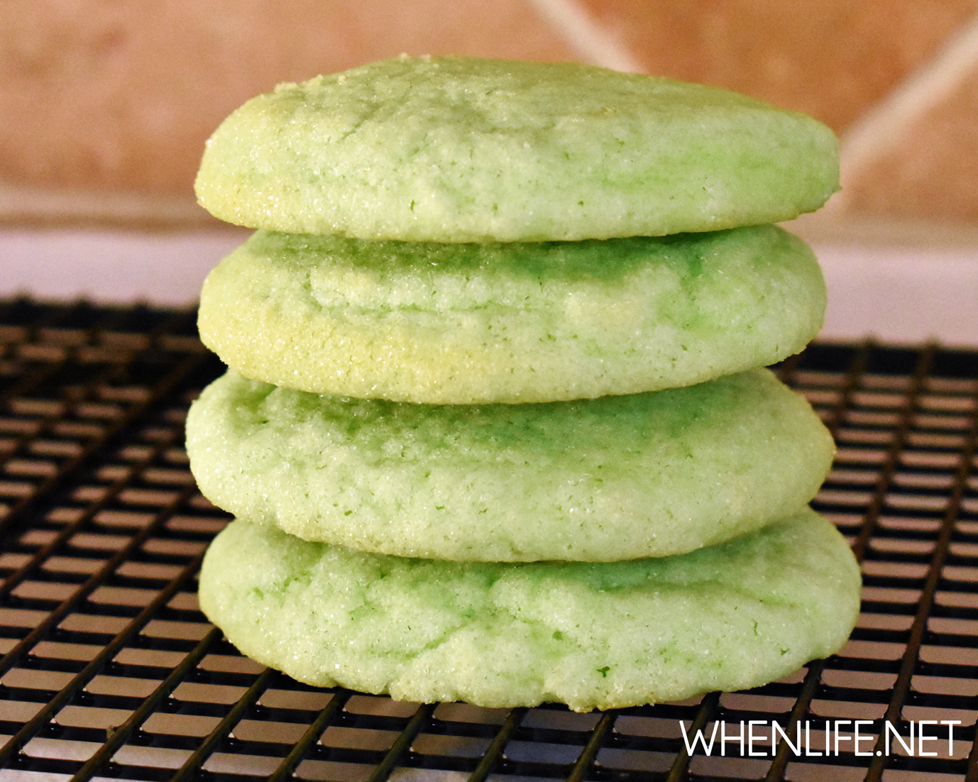 St. Patrick's Day Cookies (Jell-o Cookies)