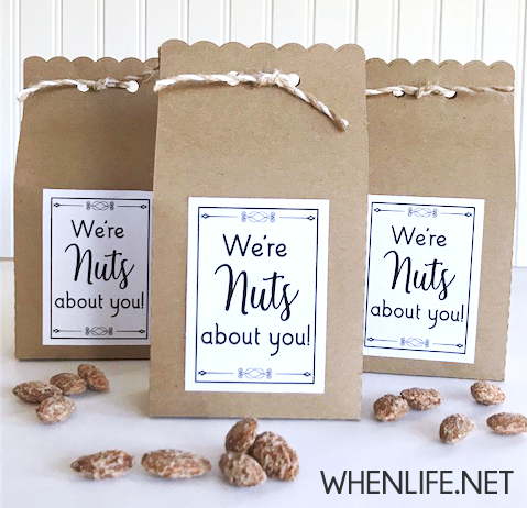 We're nuts about you printable
